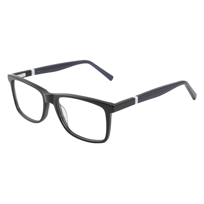 Big Size 57-18/145 Custom Made Eyeglass Frames Acetate Eyewear For Men
