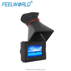 "New arrival! Feelworld 3.5""EVF digital camera viewfinder with 5II camera mode and peaking focus E350"