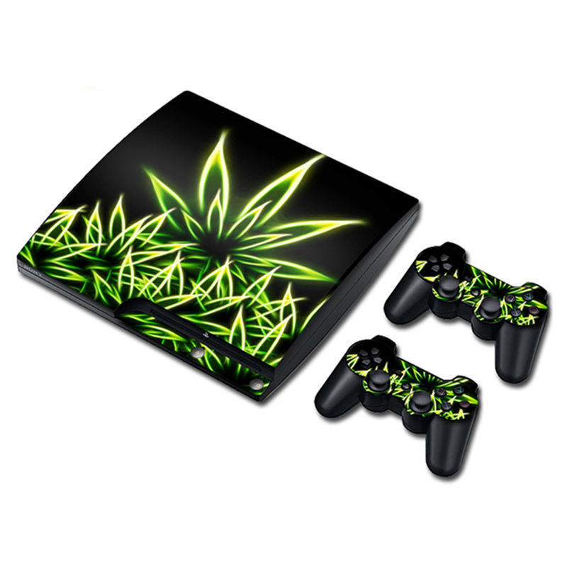 Vinyl Decal For PS3 Slim Console Controller Sticker For Play Station 3 Slim Skin