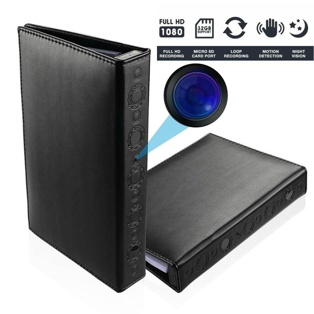 HD1080P 30FPS книга Скрытая камера с ночного видения Motion активировать Max 2 Года PIR время работы в режиме ожидания
