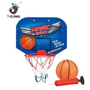 Wholesale customize portable plastic mini kids basketball hoop