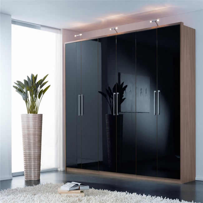New modular design plywood bedroom wall wardrobe design make in China