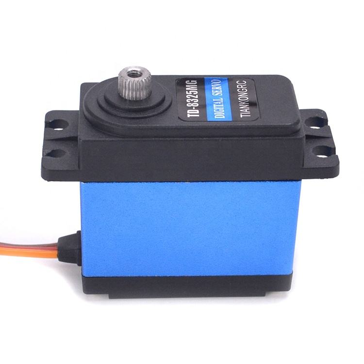 High Quality Update RC Servo 25KG Full Metal Gear Digital Servo Baja Servo Waterpro of Version & 25T Arm for cars RC toy Parts
