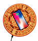 Universal Magic Circle Wireless Charger 10W Wireless Fast Quick Charging Pad for iPhone X XS 8 Samsung Xiaomi Redmi Huawei Honor