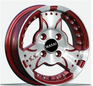 Factory 18 inch 5x112 au emr taiwan alloy wheels production in China