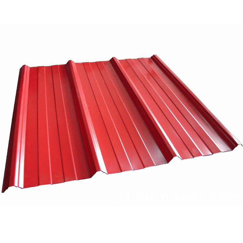 Colored Corrugated Steel Roofing Sheet