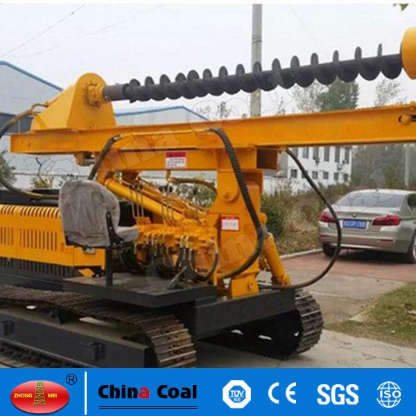 Stahlpfosten Installations Pile Driving Machine Autobahn Leitplanke Hydraulische Ramme
