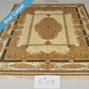 5.5x8ft хорошая коллекция handknotted тебриз ковер шелка