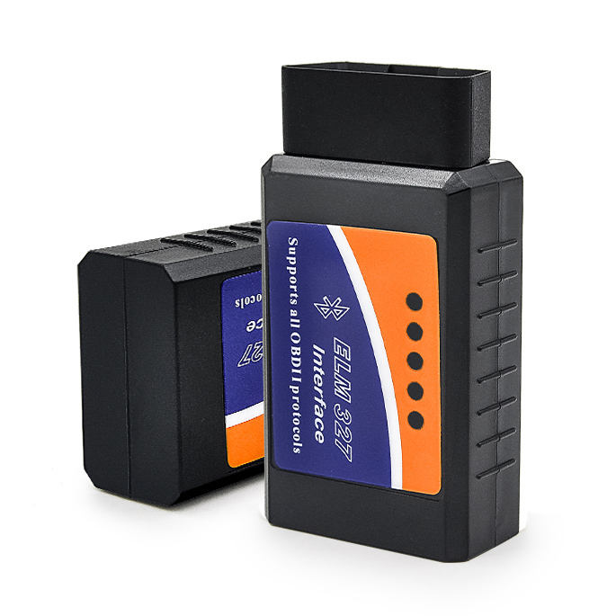 Factory Price Hottest ELM327 Bluetooth ELM 327 V2.1 Interface OBD2/OBD II Auto Car Diagnostic Scanner