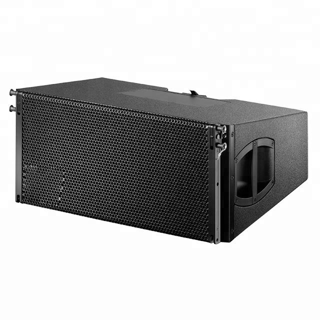 Dual 10inch 3-way line array V8 empty cabinet