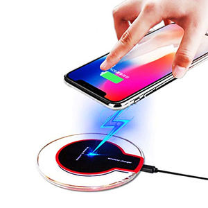 2020 Universal Qi wireless charger New Ultra-Thin 5W K9 Wireless Charging for iphone UUTEK