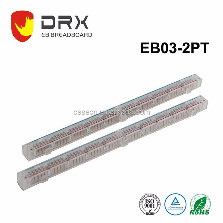 <span class=keywords><strong>200</strong></span> tie-point solderless prototype <span class=keywords><strong>breadboard</strong></span> EB03-2PT