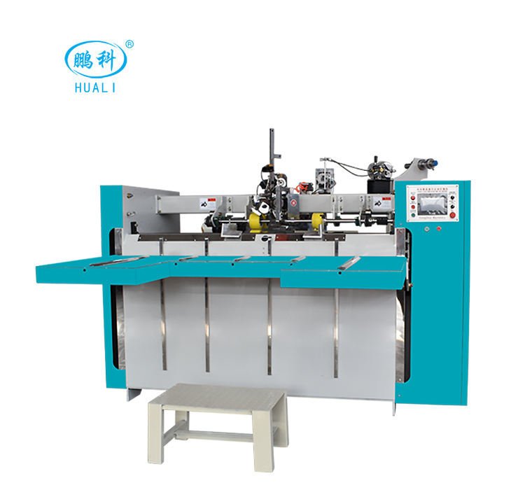 semi automatic stitcher corrugated carton box stitching machine
