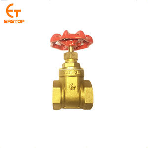 hot sale swing 1 2 3 4 inch manual bronze copper brass gate valve price for water engineering with drain manufacture