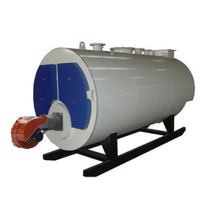 100% Safety Low Pressure Fully Automatic Operation Diesel Oil Natural Gas Fired Hot Water Boiler