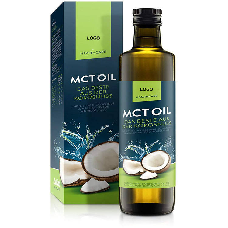 wholesale Natural oganic Cold Pressed MCT C8 Virgin Coconut Oil