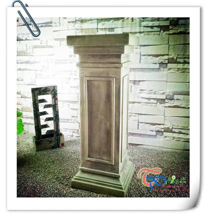Горячая распродажа фарфоровый завод декоративные смолы римские колонны для продажи