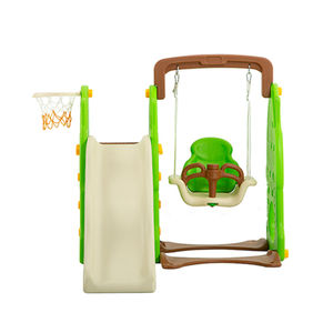 New daycare playground equipment large outdoor plastic slide for children