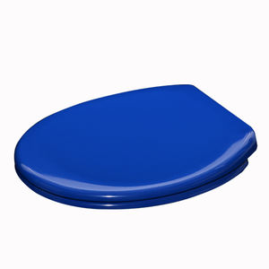Western sanitary ware blue colored soft close toilet seat for sale