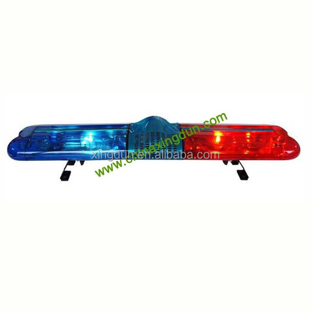 12v or 24v full size halogen rotating emergency police beacon light bar TBD-GA-2000D