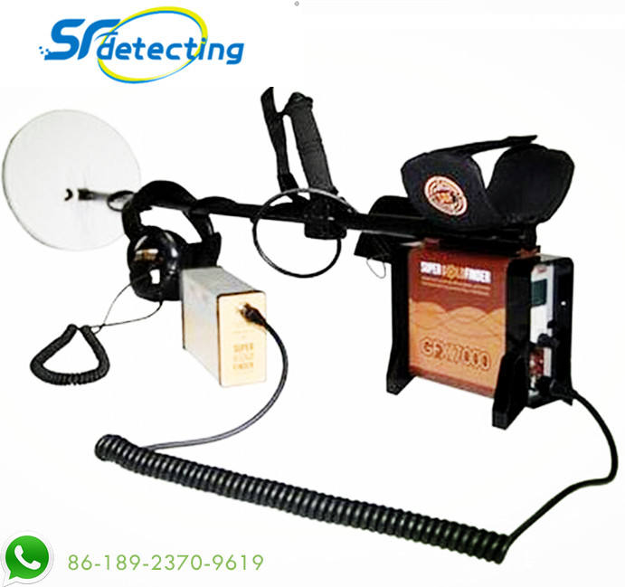 Underground GFX7000 Metal Detectors for Treasure Hunting, Rechargeable Battery Deep search Gold Detector Mining Finder GFX-7000
