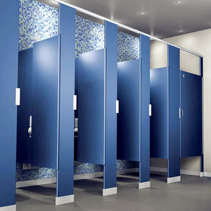 Brikley new design hpl panel toilet bathroom partitions use compact board