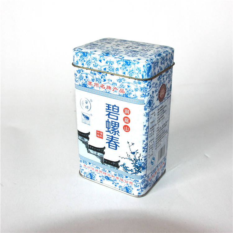 Wholesale Square Metal Tea Tin Can / Tin / Coffee Tin Box