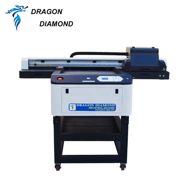 Hoge <span class=keywords><strong>Precisie</strong></span> Digitale Automatische Inkjet Printer UV Digitale Inkjet 6090 Uv <span class=keywords><strong>Flatbed</strong></span> Printer voor Telefoon Case PVC
