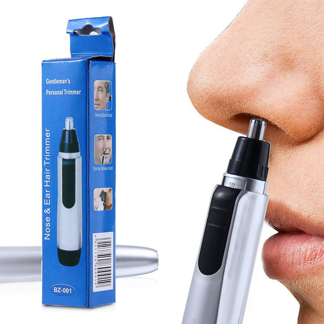 Nose&Ear Facial SHAVER Hair Wet/Dry Trimmer Cleaner Easy Electric
