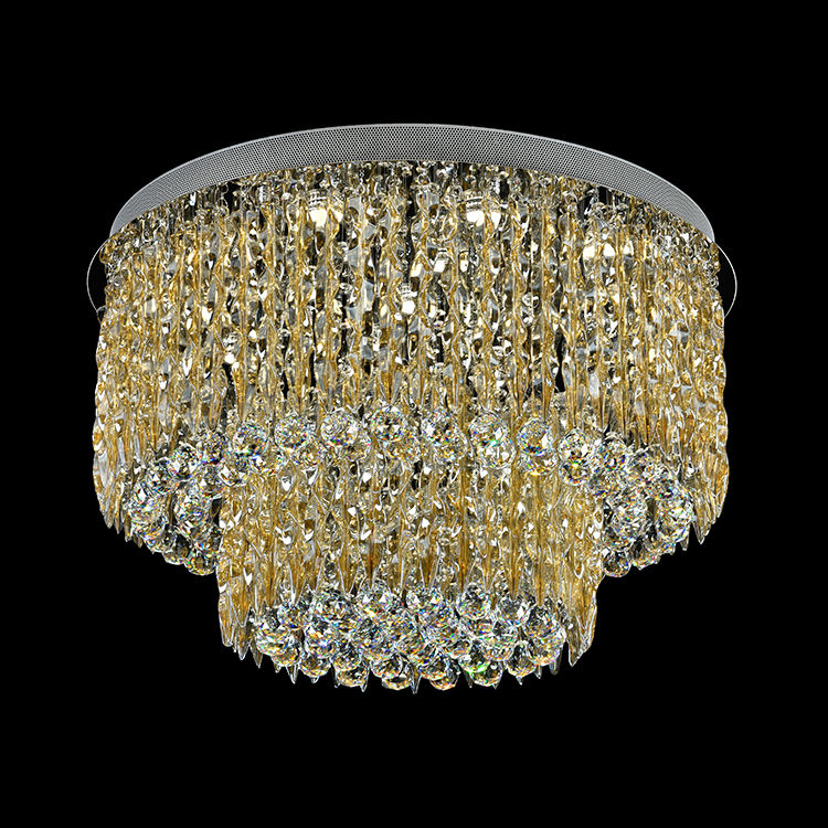 American style new style lobby glass K9 crystal chandeliers lighting