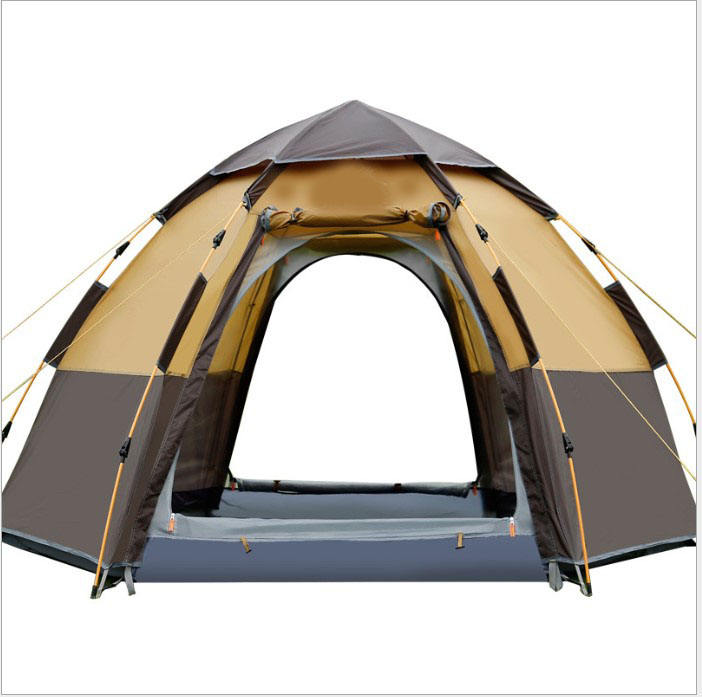 <span class=keywords><strong>Outdoor</strong></span> Camping Hexagon 5-7 Persoon Tent Leisure Tent