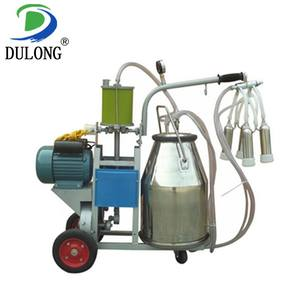 8-10 cows/h professional small cow milking machine for sale