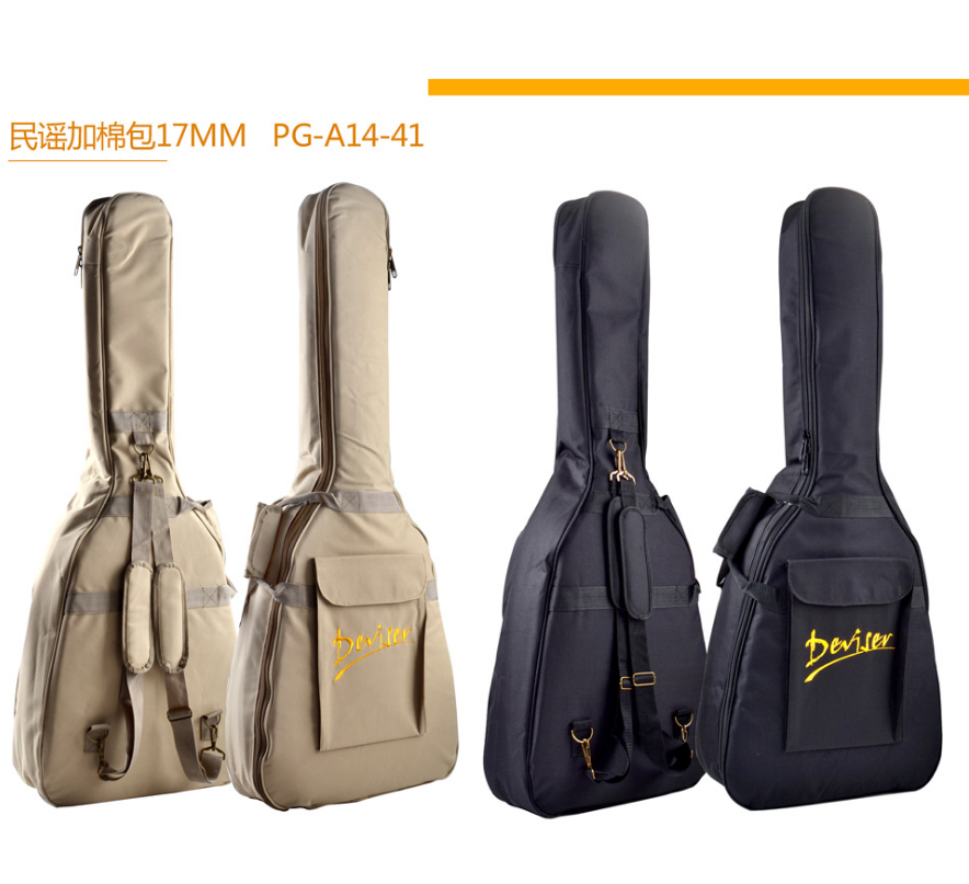 Wholesale OEM acoustic guitar strap musical instrument gig bags