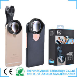 Hot sale Apexel Apexel 85mm 3x telephone zoom camera lens for mobile phone