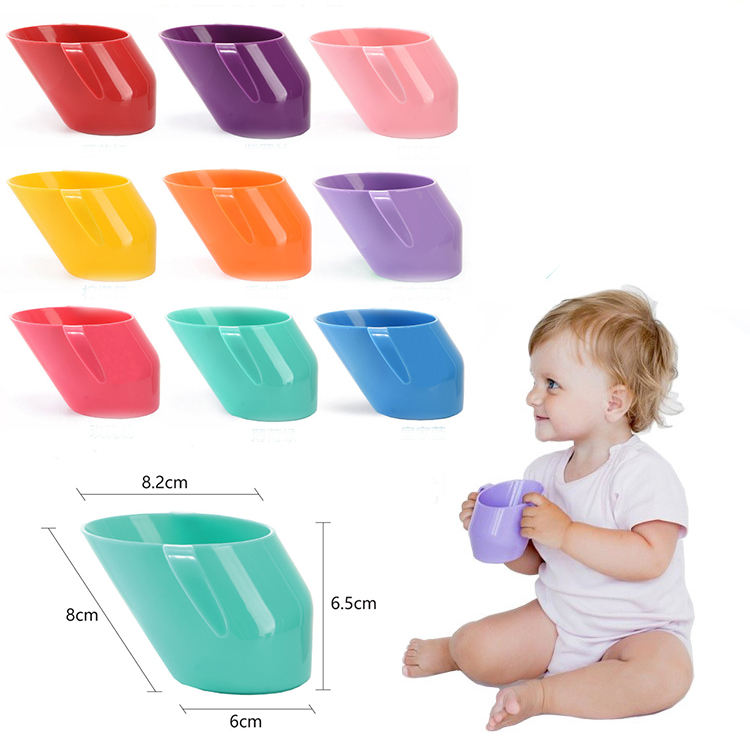 Hot sale bpa free food grade PP 200ml baby training cup