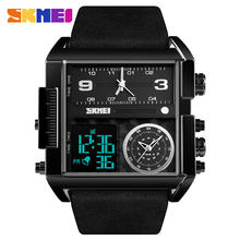 Top Quality luxury big wrist watch digital analog men sport watch skmei 1391 wristwatches Relogio wholesale watch