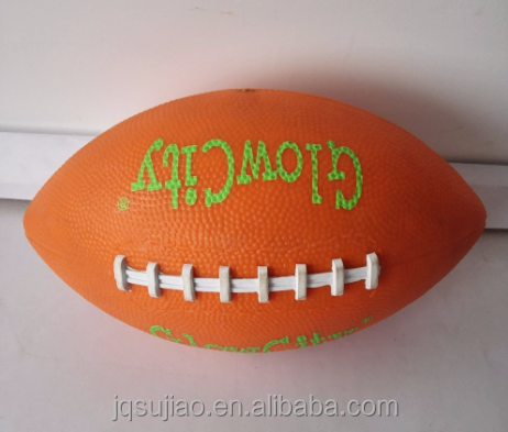 2017 new design pvc American football rugby for children toys gift