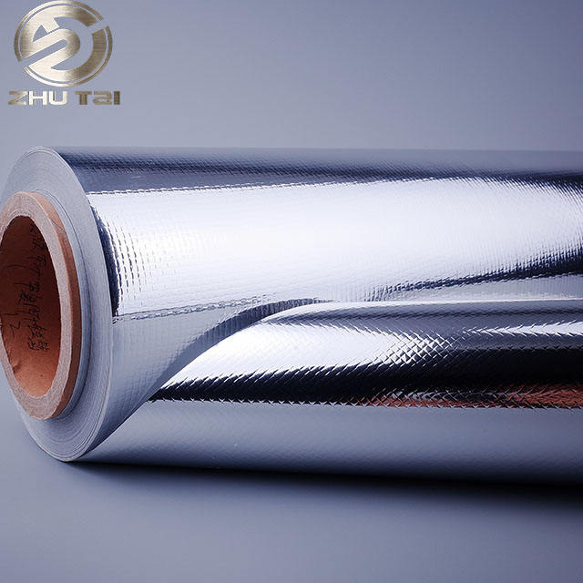Metalized attic double sided foil insulation aluminium polyethylene foil for package