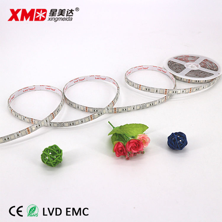 Led strip 5050 60d rgb 12v ip65 จำนวนมาก cuttable