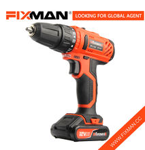 FIXMAN 12V Cordless Battery Power Drill And Screwdriver Combo