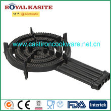 4 rings Cast iron gas cooker, Cast iron gas burner, Cast iron gas stove