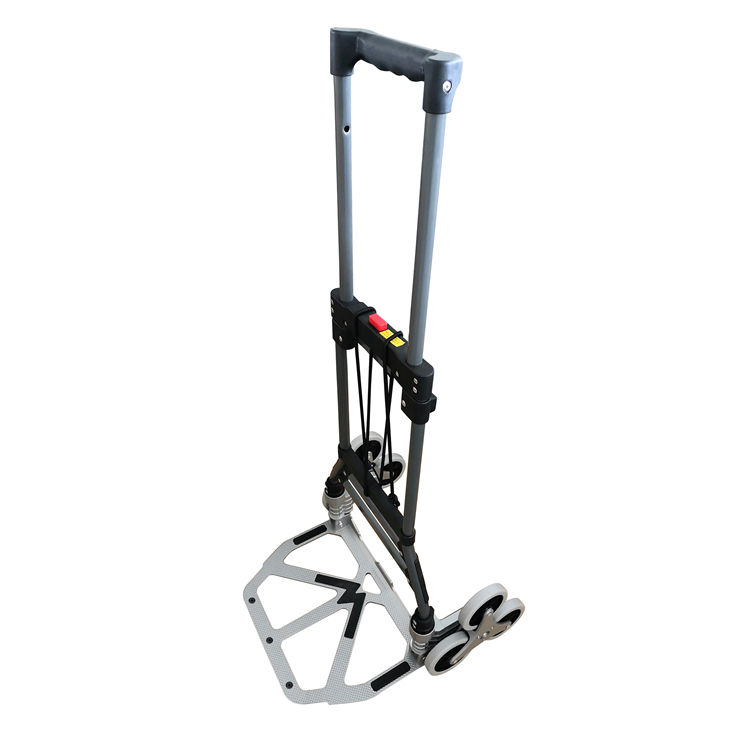 6 wheel can Climbing stair Steel hand trolley