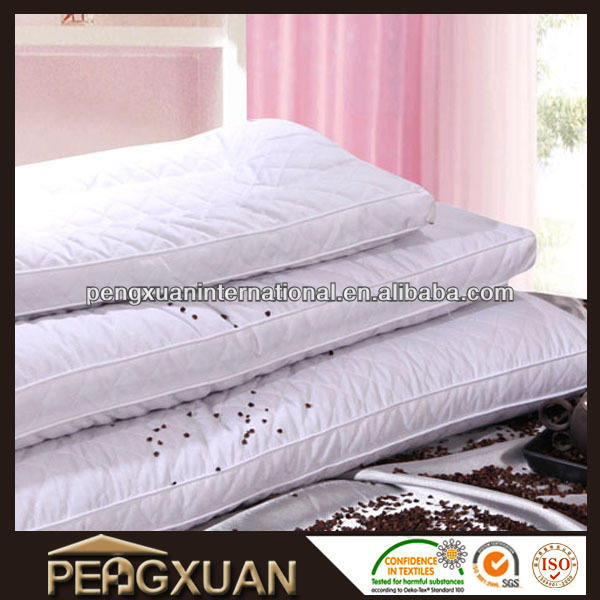 factory direct sale A grade plain dyed hotel buckwheat hull pillow