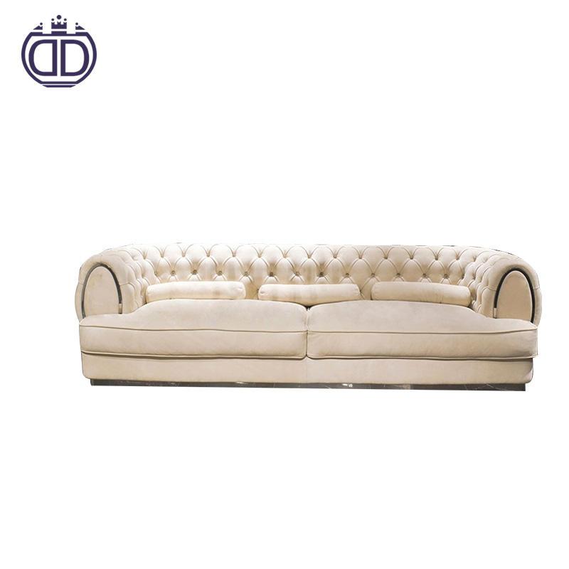 Última <span class=keywords><strong>Casa</strong></span> fuinture Italia estilo moderno sofá de cuero sofá de tela establece muebles de sala set L forma sofá cubierta
