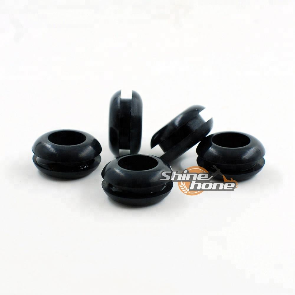 Luftschleuse Black Rubber Grommet Homebrew Bier Mead Wein Fermenter Deckel
