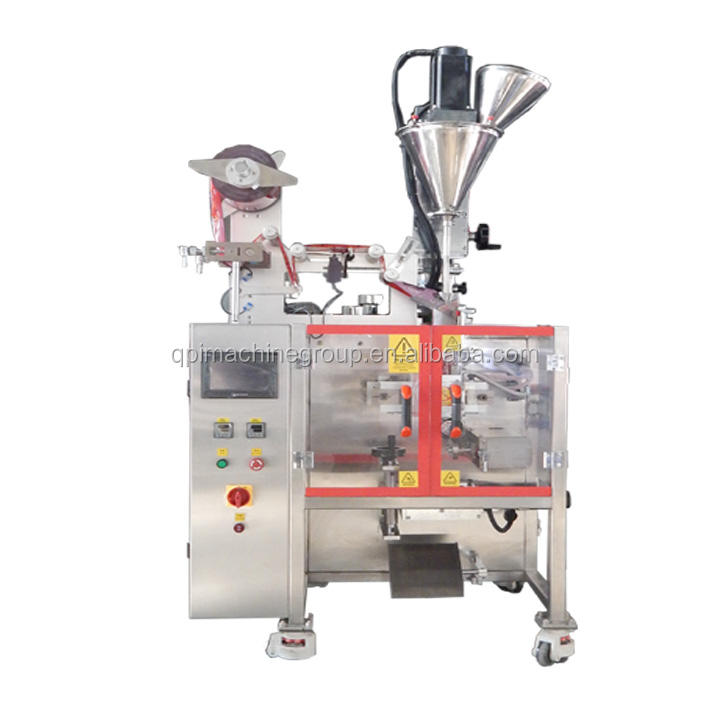 (QPI-SFF-160VI) full automatic dust free probiotics powder packageing machine for paper plastic bags