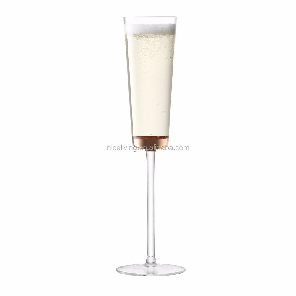Elegant Champagne Seruling <span class=keywords><strong>Emas</strong></span> 5.6 oz/160 ml