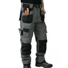 Mens Heavy-duty Six Pocket Work Cargo Pant