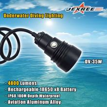 Rechargeable Long Running Waterproof Diving Canister LED Torch