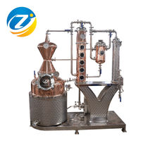 reflux still electric 200L copper still whiskey still